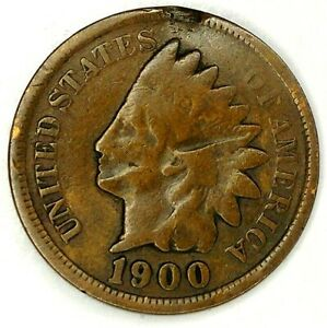 1900 P 1C INDIAN HEAD CENT 19HW0225 1 70 CENTS SHIPPING