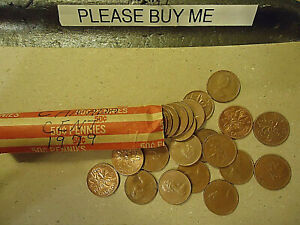 1979 CANADA CENT ROLL    50 COINS      >>C/S & H AVAILABLE<<
