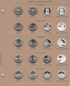 Click now to see the BUY IT NOW Price! 2010  2015 ATB NATIONAL PARK 120 QUARTER SET PDSS CLAD/SILVER PROOF DANSCO ALBUM