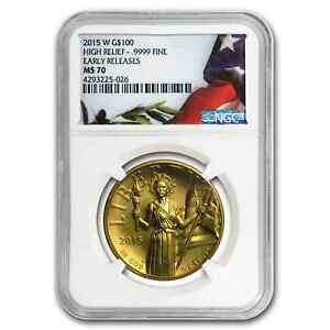 Click now to see the BUY IT NOW Price! 2015 HIGH RELIEF AMERICAN LIBERTY GOLD MS 70 NGC  EARLY RELEASES    SKU 91820