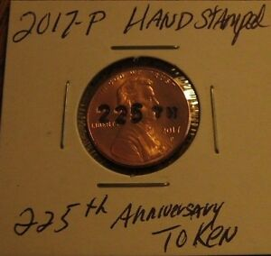 THE 225TH ANNIVERSARY PENNY
