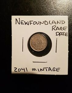 Click now to see the BUY IT NOW Price! 1946C NEWFOUNDLAND 5 CENT   LOW MINTAGE