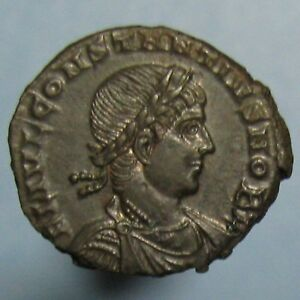 Click now to see the BUY IT NOW Price! MINT STATE CONSTANTIUS II GLORIA EXERCITVS AE 3 FROM CONSTANTINOPLE