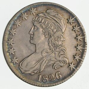 1826 CAPPED BUST HALF DOLLAR  CIRCULATED  2308