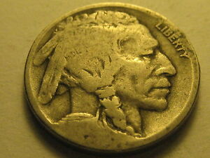 1917 D BUFFALO NICKEL VG