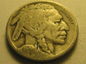 1920 S BUFFALO NICKEL FINE