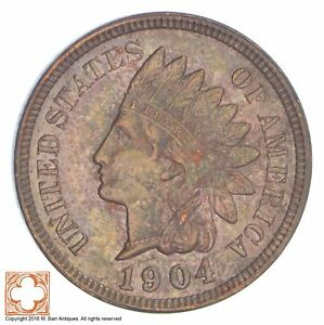 1904 INDIAN HEAD CENT  XB25