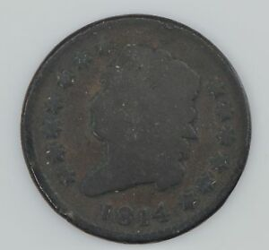 1814 CLASSIC HEAD LARGE CENT  Z67