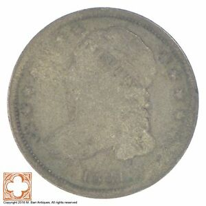 1831 CAPPED BUST DIME  XB97