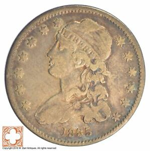 1835 QUARTER CAPPED BUST  SB93