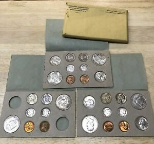 Click now to see the BUY IT NOW Price! 1949 PDS COMPLETE ORIGINAL DOUBLE US MINT SET W/ SHIPPING ENVELOPE