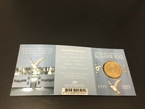 2003 KOREAN WAR 1953   2003 RAM $1 UNC C MINTMARK