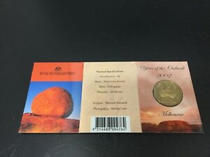 2002 RAM $1 UNC M MINTMARK  YEAR OF THE OUTBACK