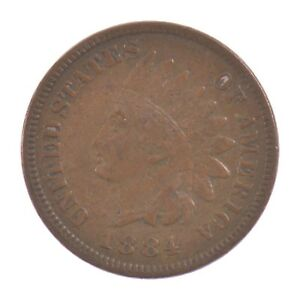1884 INDIAN HEAD ONE CENT  Z57