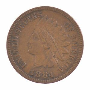 1884 INDIAN HEAD ONE CENT  Z49