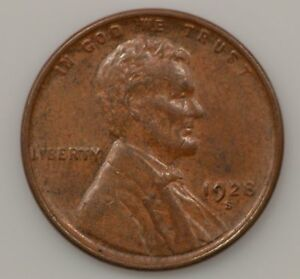 1928 S LINCOLN WHEAT EARS CENT  G09