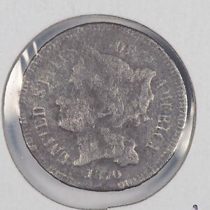 1870 3CN THREE CENT NICKEL ABOUT GOOD CONDITION 167674