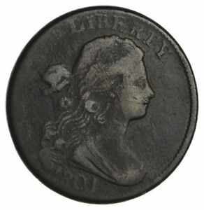 1801 DRAPED BUST LARGE CENT   CIRCULATED  1879