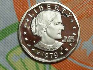 1979 S TYPE 2 SUSAN B ANTHONY DOLLAR NICE RAW COIN FOR ALBUM