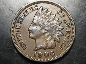 1906 INDIAN HEAD PENNY    MANY DETAILS   12 PHOTOS      B