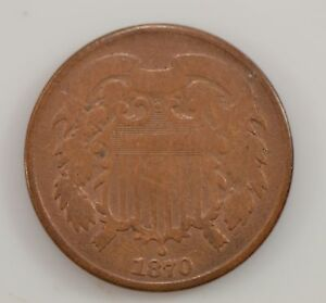 1870 TWO CENT PIECE  G11