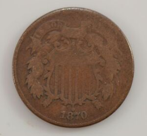 1870 TWO CENT PIECE  G32