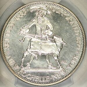 Click now to see the BUY IT NOW Price! 1938 SPECIMEN STRIKE NEW ROCHELLE COMMEM PCGS MS66  CAC