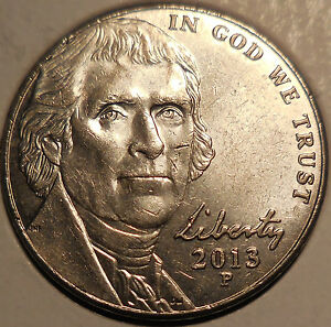 Click now to see the BUY IT NOW Price! 2013 JEFFERSON NICKEL MAJOR TRAIL DIE  WITH WAVY STEPS