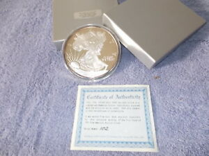 1996 S SILVER EAGLE PROOF