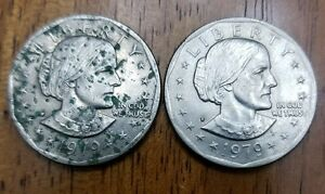 2  1979 P SUSAN B. ANTHONY DOLLARS