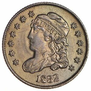 1832 CAPPED BUST HALF DIME   CIRCULATED  1710