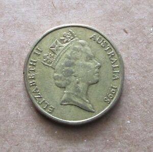 AUSTRALIA YEAR 1998  MOB OF ROOS  $1.00 DOLLAR COIN