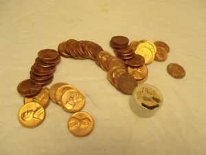 1 ROLL 1965 LINCOLN MEMORIAL PENNIES    LOT B