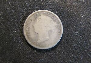 1882 H CANADA 10 CENTS SILVER CANADIAN COIN
