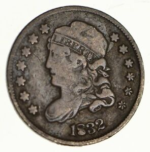 1832 CAPPED BUST HALF DIME   CIRCULATED  5605