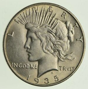 1935 S PEACE SILVER DOLLAR   NEAR UNCIRCULATED  5611