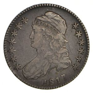 1817 CAPPED BUST HALF DOLLAR   CIRCULATED  2155