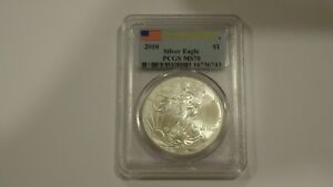 Click now to see the BUY IT NOW Price! 2010 SILVER EAGLE FIRST STRIKE PCGS MS70 LOT OF 10