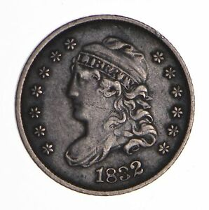 1832 CAPPED BUST HALF DIME   CIRCULATED  8453