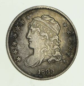 1835 CAPPED BUST HALF DIME   CIRCULATED  5886
