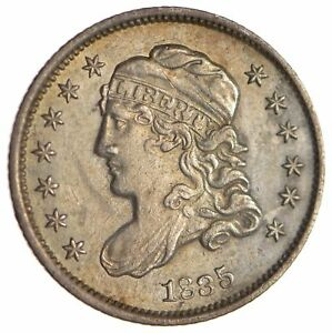 1835 CAPPED BUST HALF DIME   CIRCULATED  1703