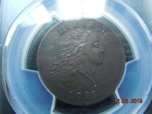 Click now to see the BUY IT NOW Price! 1793 CHAIN LARGE CENT PCGS AU DETAILS S 3 B 4 R 3 SPECTACULAR COIN