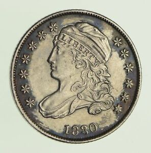 1830 CAPPED BUST DIME   CIRCULATED  9743