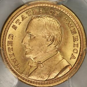 Click now to see the BUY IT NOW Price! 1903 LOUISIANA PURCHASE MCKINLEY COMMEM G$1 PCGS MS66