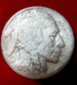 1919 S  BUFFALO NICKEL VF DETAILS RB2645 49 CENT SHIPPING ON 3