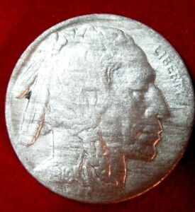 1919 S  BUFFALO NICKEL VF DETAILS RB2646 49 CENT SHIPPING ON 3