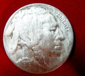 1919 S  BUFFALO NICKEL VF DETAILS RB2647 49 CENT SHIPPING ON 3