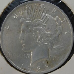 1923 P PEACE SILVER DOLLAR VAM 2;  FS S1 1923 002   TOP 50:  DOUBLED TIARA RAYS