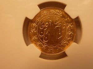Click now to see the BUY IT NOW Price! NGC GRADED MS 61 GOLD 2 TOMAN OF NASIR AL DIN SHAH AH 1299