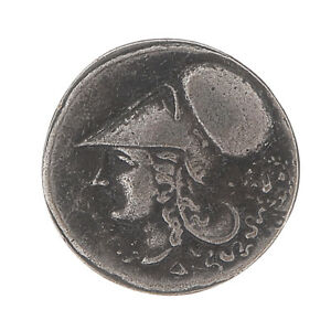 GREEK COLLECTIBLE COINS   415 TETRADRACHM ANTIQUE METAL PLATED ANCIENT